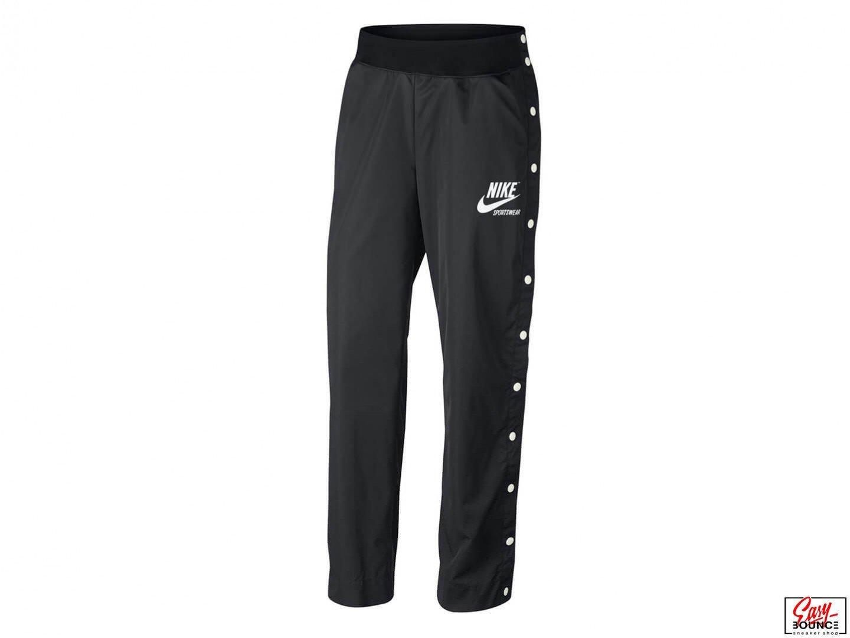 Женские брюки Nike Archive Snap Pants / black