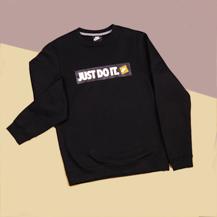 Толстовка Nike Just Do It Box Logo Sweatshirt