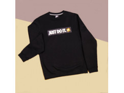 Толстовка Nike Just Do It Box Logo Sweatshirt