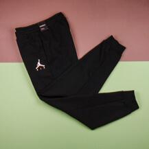 Штаны Nike Air Jordan Jumpman Fleece Pant, Black/White