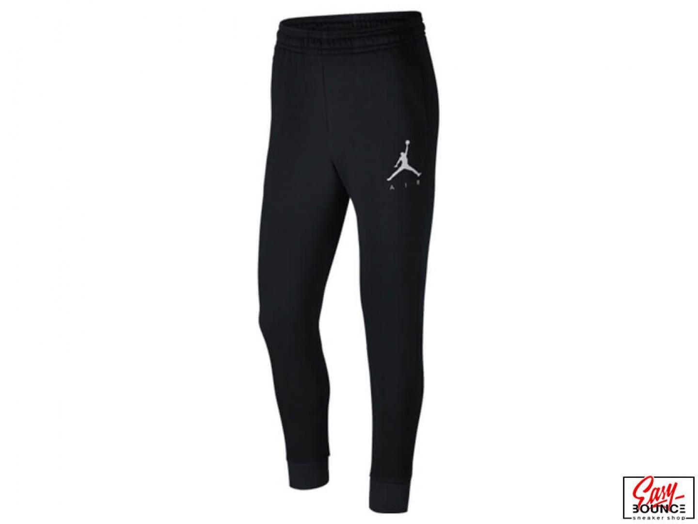 Зауженные спортивные штаны Jordan Jumpman Air Graphic Fleece   black 12e10e6f027
