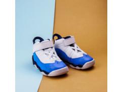 Детские кроссовки Air Jordan 6 RINGS / white