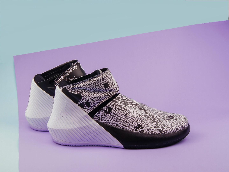 Мужские кроссовки Air Jordan Why Not Zero.1 All-Star, Black/White