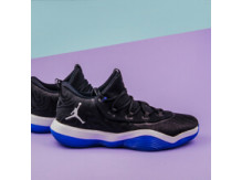 Мужские кроссовки Air Jordan Super.Fly Low, Black/White/Blue