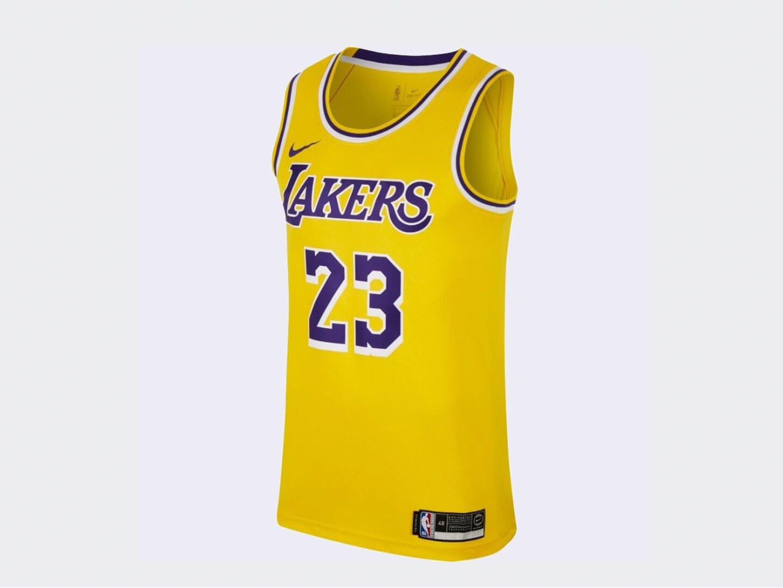 Джерси Nike LeBron James LAL Icon Edition / yellow