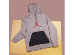 Толстовка Air Jordan Jumpman Air Lightweight Hoodie / carbon heather