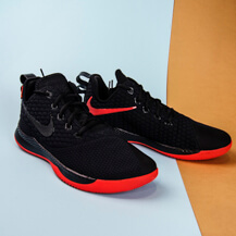 Мужские кроссовки Nike Lebron Witness III, Black/Black-University Red
