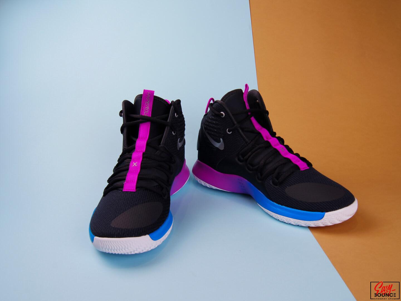 Мужские кроссовки Nike Hyperdunk X, Cool Grey/Cool Grey-Team