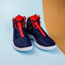 Мужские кроссовки Nike Hyperdunk X,  Midnight Navy/University Red-White
