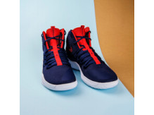 Мужские кроссовки Nike Hyperdunk X,  Midnight Navy/University Red-White