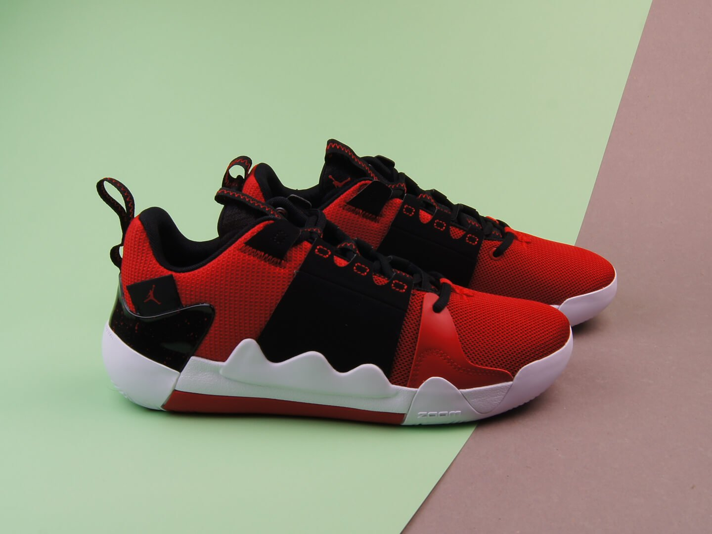 Кроссовки Jordan Zoom Zero Gravity / red, black