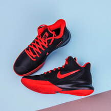 Мужские кроссовки Nike Precision III / black, university red