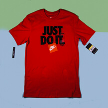 Футболка Nike Just Do It T-Shirt  / red