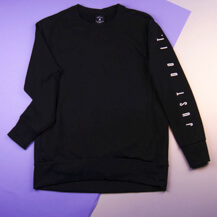Женский свитшот Nike Dri-FIT Long-Sleeve Training Top / black