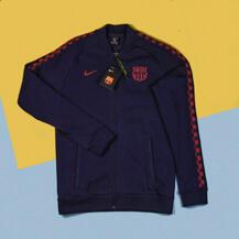 Толстовка Nike FC Barcelona Fleece Track Jacket