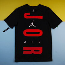 Футболка Air Jordan Wordmark T-Shirt, black