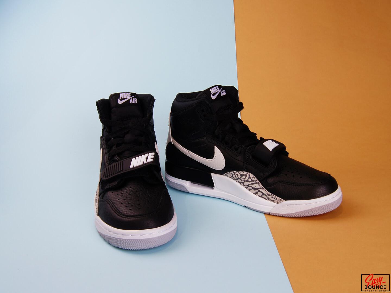 Мужские кроссовки Air Jordan Legacy 312, Black/White