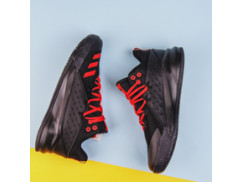 Мужские кроссовки Adidas Street Jam / black, scarlet