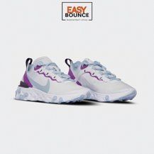 Кроссовки Nike Wmns React Element 55 / psychic blue