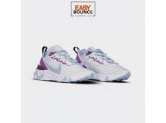 Кроссовки Nike Wmns React Element 55 / psychic blue