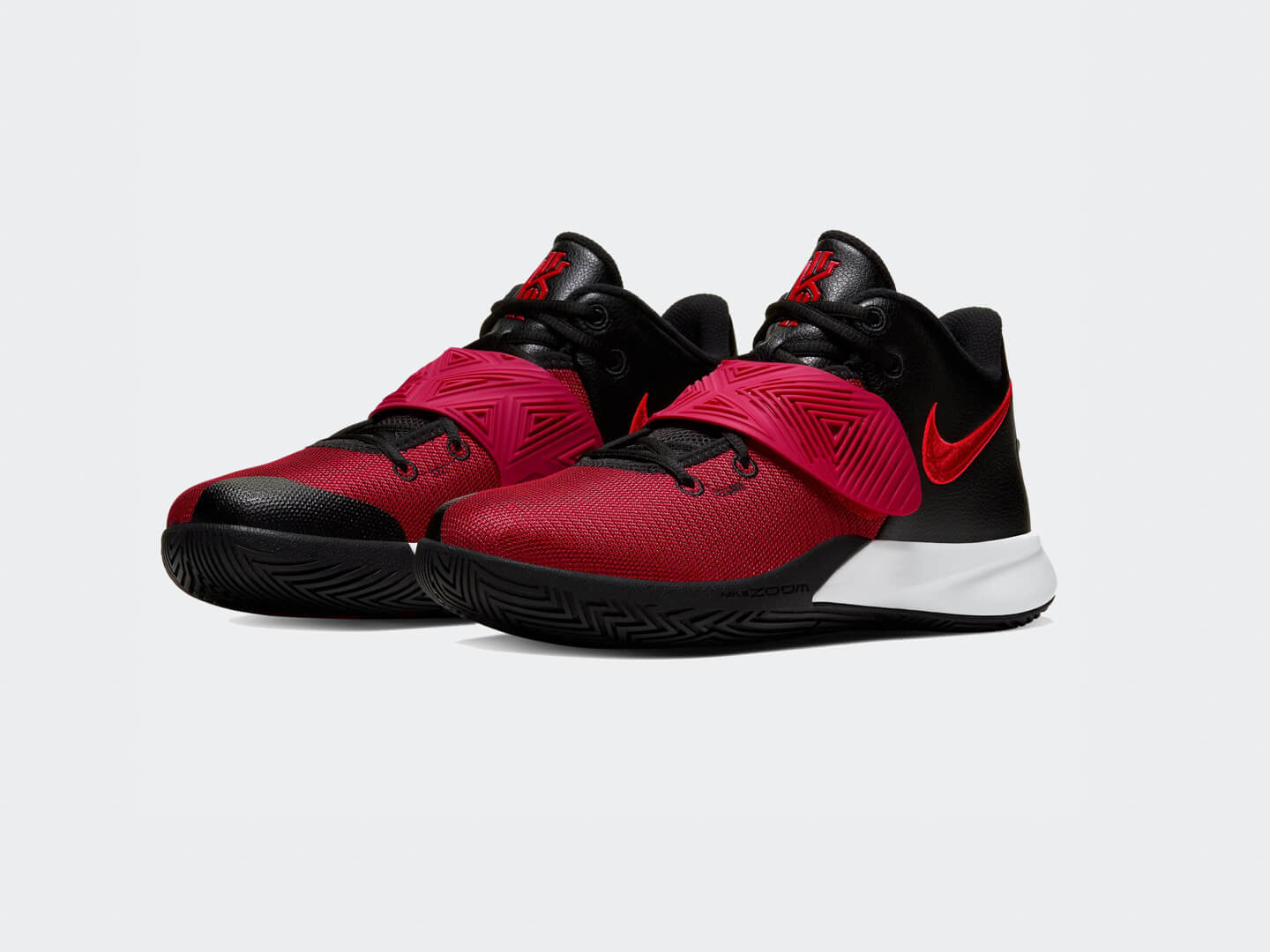 Кроссовки Nike Kyrie Flytrap III / black, university red