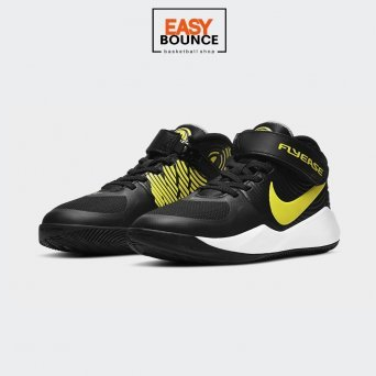 Кроссовки Nike Team Hustle D 9 FlyEase / black, high voltage