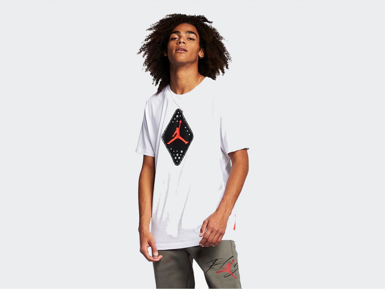 Футболка Air Jordan Retro 6 T-Shirt, white
