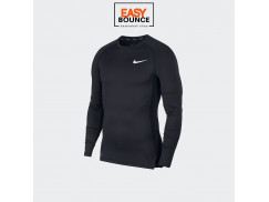 Компрессионная футболка Nike Pro Top Ls Tight / black