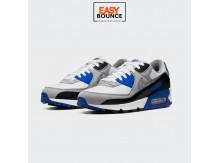 Кроссовки Nike Air Max 90 / smoke grey, black, blue