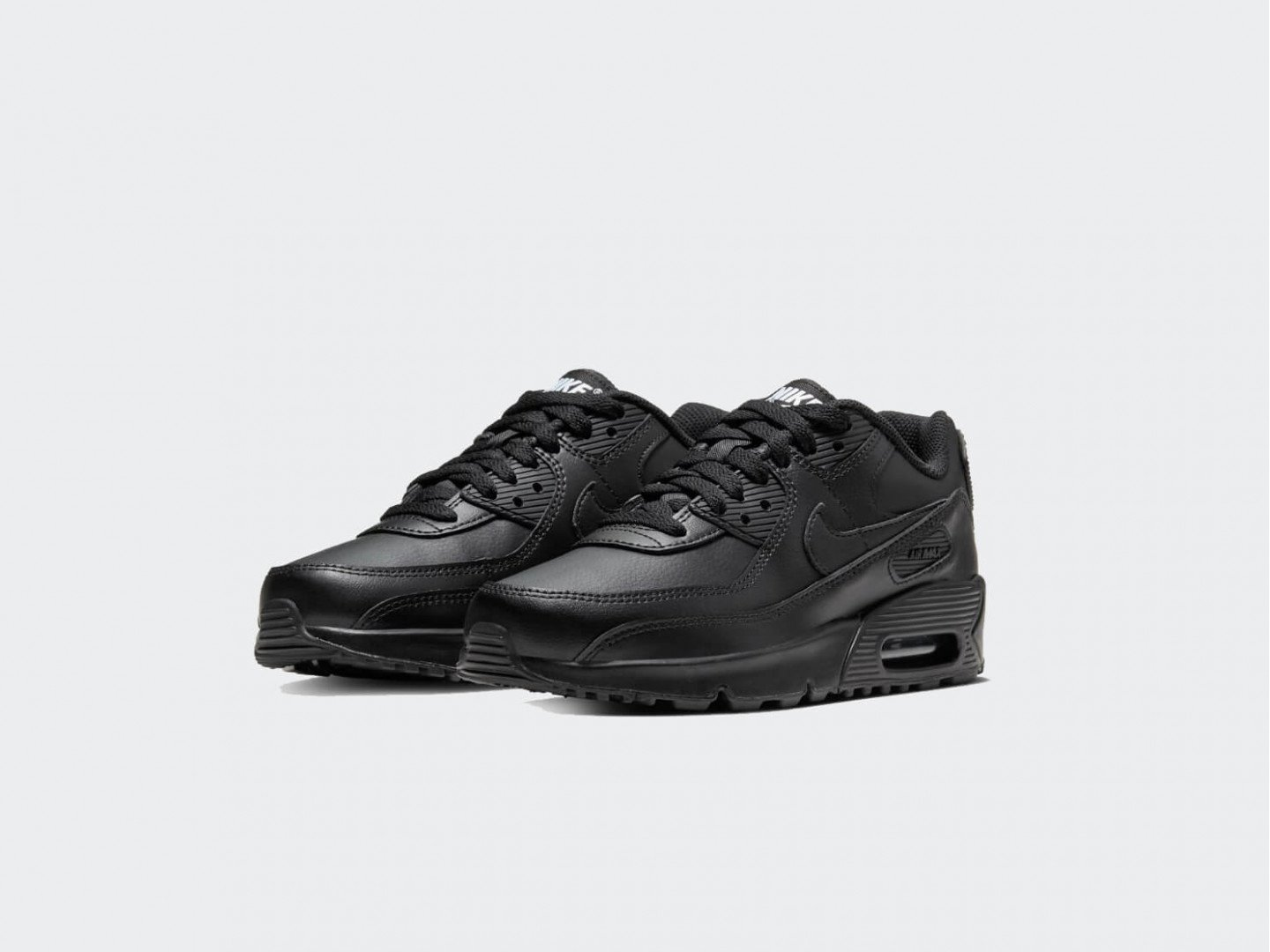 Кроссовки Nike Air Max 90 Leather (GS) / black