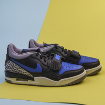Кроссовки Air Jordan Legacy 312 low / black game royal