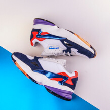Женские кроссовки Adidas Originals FALCON / white,blue,red