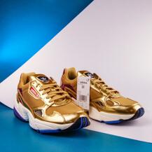Женские кроссовки Adidas Originals FALCON / gold