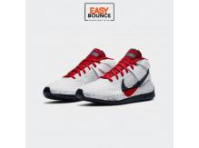 Кроссовки Nike KD 13 / white, red, obsidian