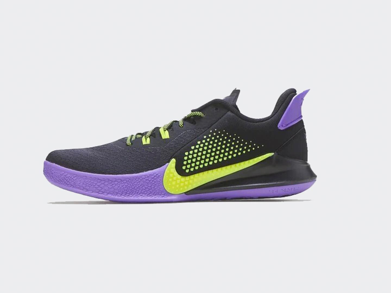 Кроссовки Nike Mamba Fury 'Lakers Away'