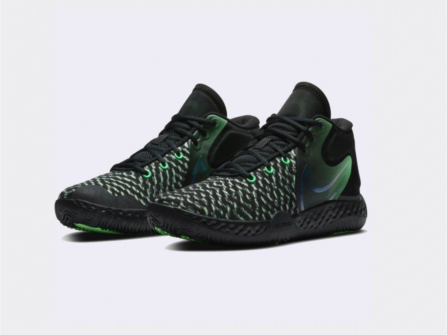 Кроссовки Nike KD Trey 5 VIII / black, green