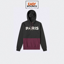 Толстовка Air Jordan Paris Saint-Germain Fleece Pullover Hoodie / black