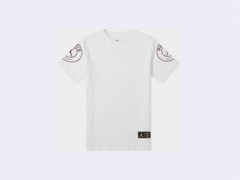 Футболка Air Jordan Paris Saint-Germain Logo T-Shirt / white
