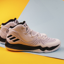 Мужские кроссовки Adidas D rose Dominate III, White/Core Black