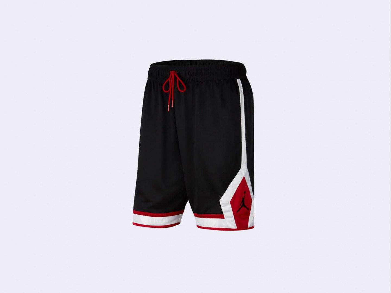 Шорты Air Jordan Jumpman Diamond Shorts / black, white, red