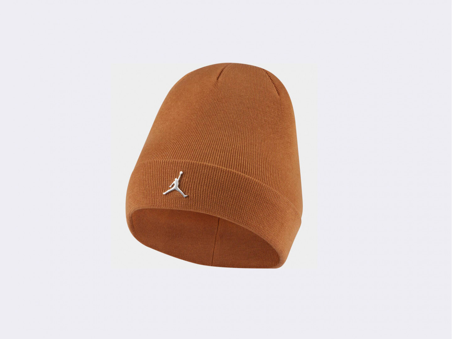 Шапка Jordan Cuffed Beanie Metal Jumpman / brown
