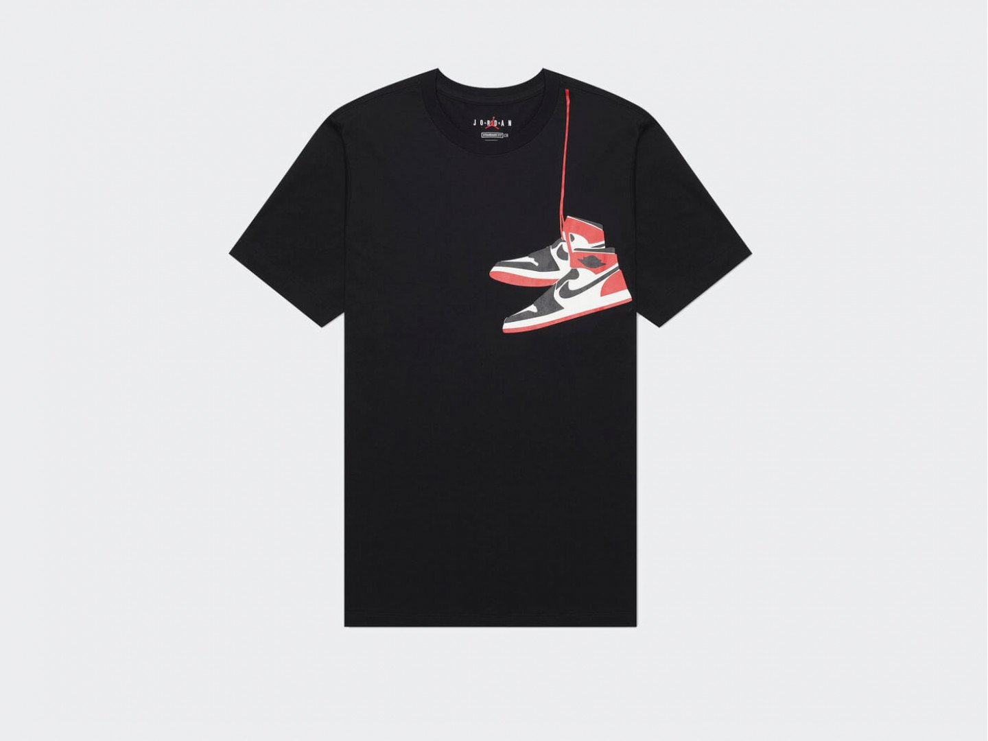 Футболка Air Jordan AJ1 Shoe Crew / black