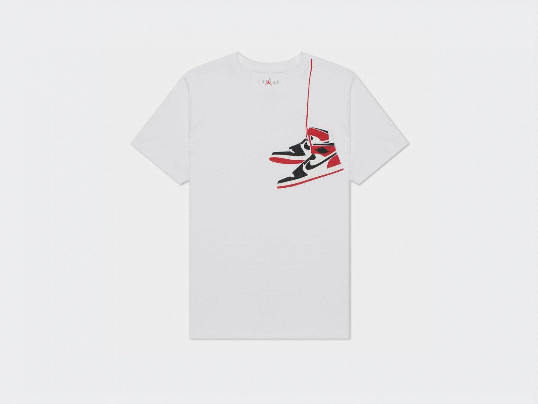 Футболка Air Jordan AJ1 Shoe Crew / white