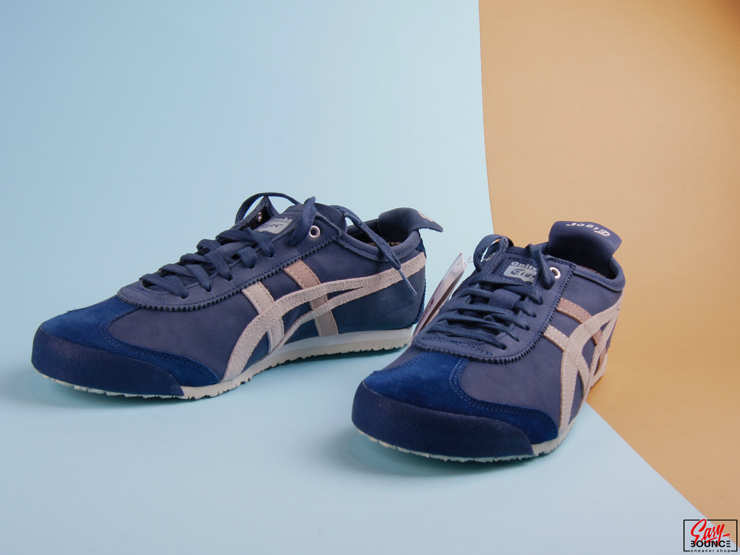 Мужские кеды Onitsuka tiger Mexico 66, Navy Blue/Grey