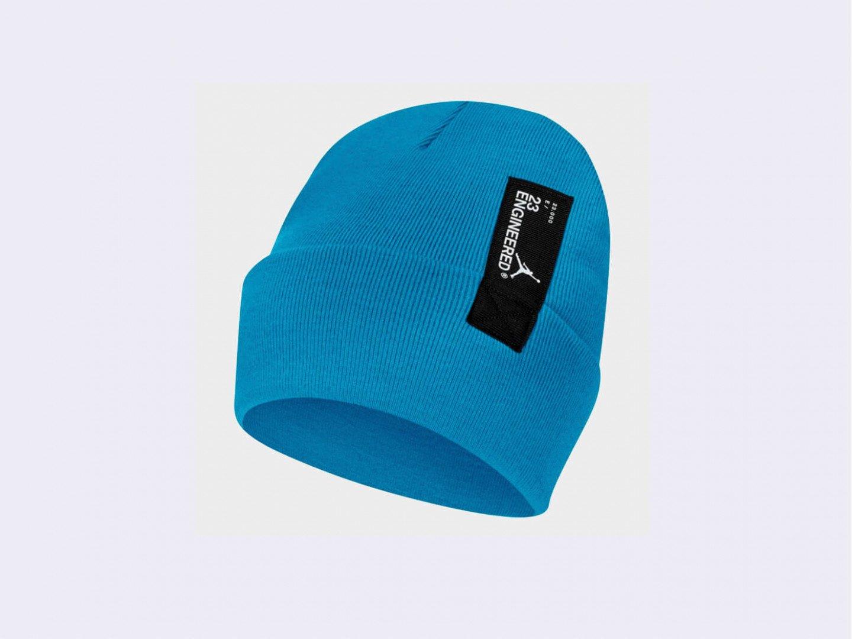 Шапка Jordan 23Eng Cuffed Beanie / blue