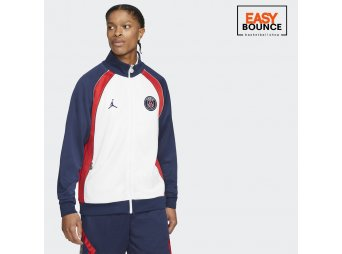 Куртка Air Jordan Paris Saint-Germain Suit Jacket / white, midnight navy
