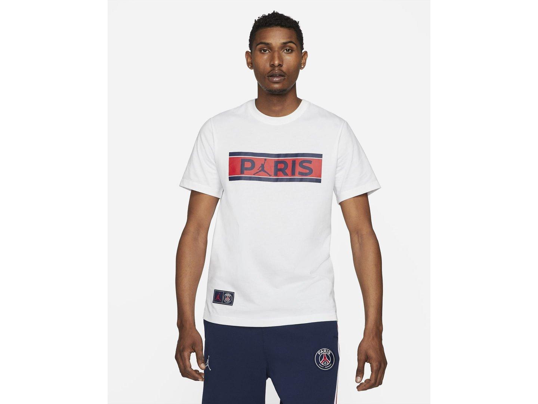 Футболка Air Jordan Paris Saint-Germain Short-Sleeve T-Shirt  / white