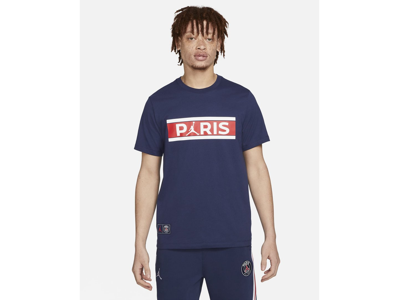 Футболка Air Jordan Paris Saint-Germain Short-Sleeve T-Shirt  / blue