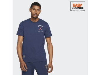 Футболка Air Jordan Paris Saint-Germain Logo Tee / blue