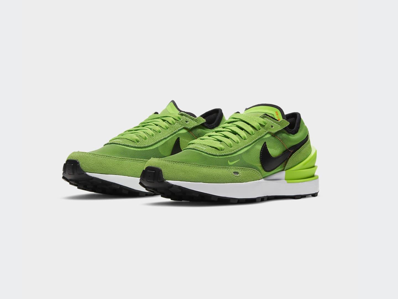 Кроссовки Nike Waffle One / electric green